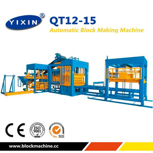 Germany Performance Fully Automatic QT12-15 Block Machine