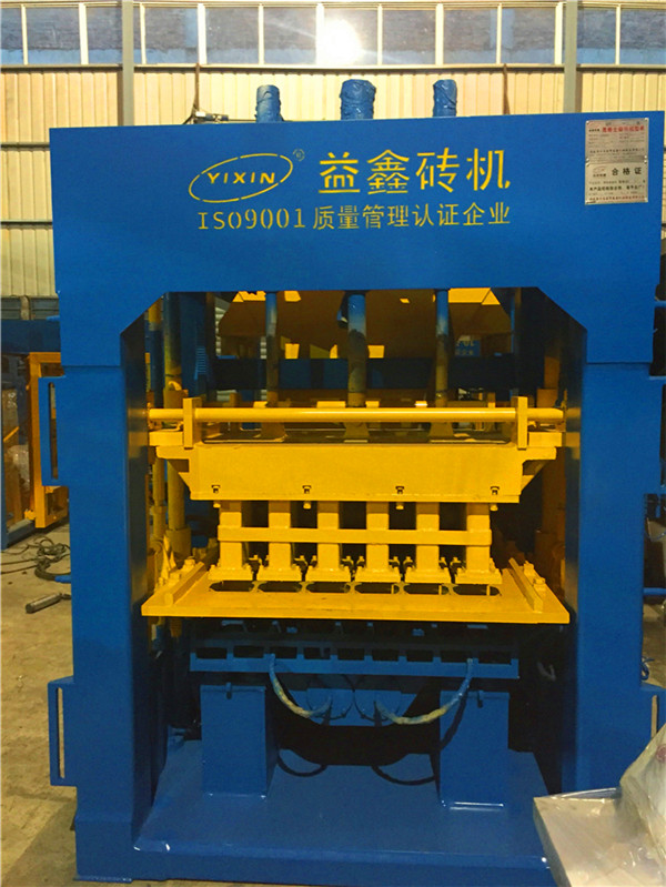 QT10-15 Fully And Semi Automatic Concrete Block Machine