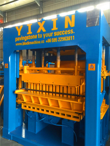 QT10-15 Automatic Brick Forming Machine Yixin Block Machine for Middle East Market