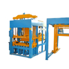 Yixin QT5-15 Fly Ash Brick Machine Plant Working in India