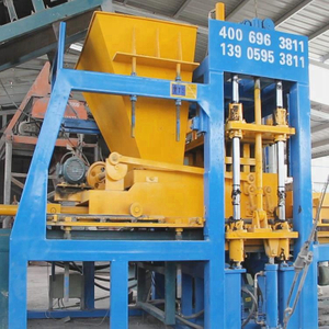 QT8-15 Road Paver Interlocking Cement Block Machine Supplier Price