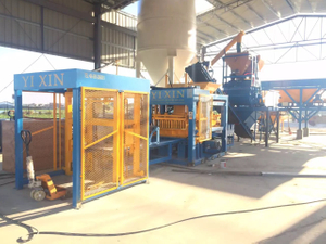 QT10-15 Concrete Block Making Machine High Efficiency