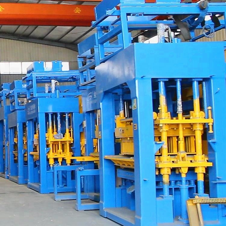 China QT9-15 Automatic Hollow /solid /pavement Block Making Machine