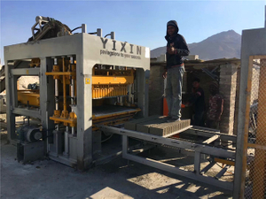 QT12-15 High Efficiency Concrete Hollow Block Making Machine