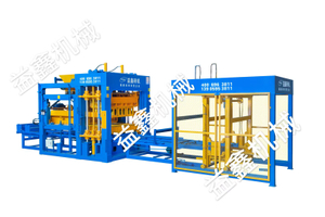 Yixin QT9-15 Perfect Working Concrete Block Brick Making Machine for Africa Market