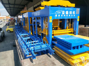 Yixin Automatic Qt5-15 Concrete Hollow Block Making Machine Manufacturer Bangldesh Price