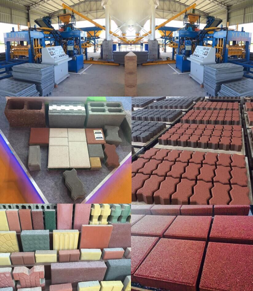 QT8-15 Hollow Block Making Machine China Supplier